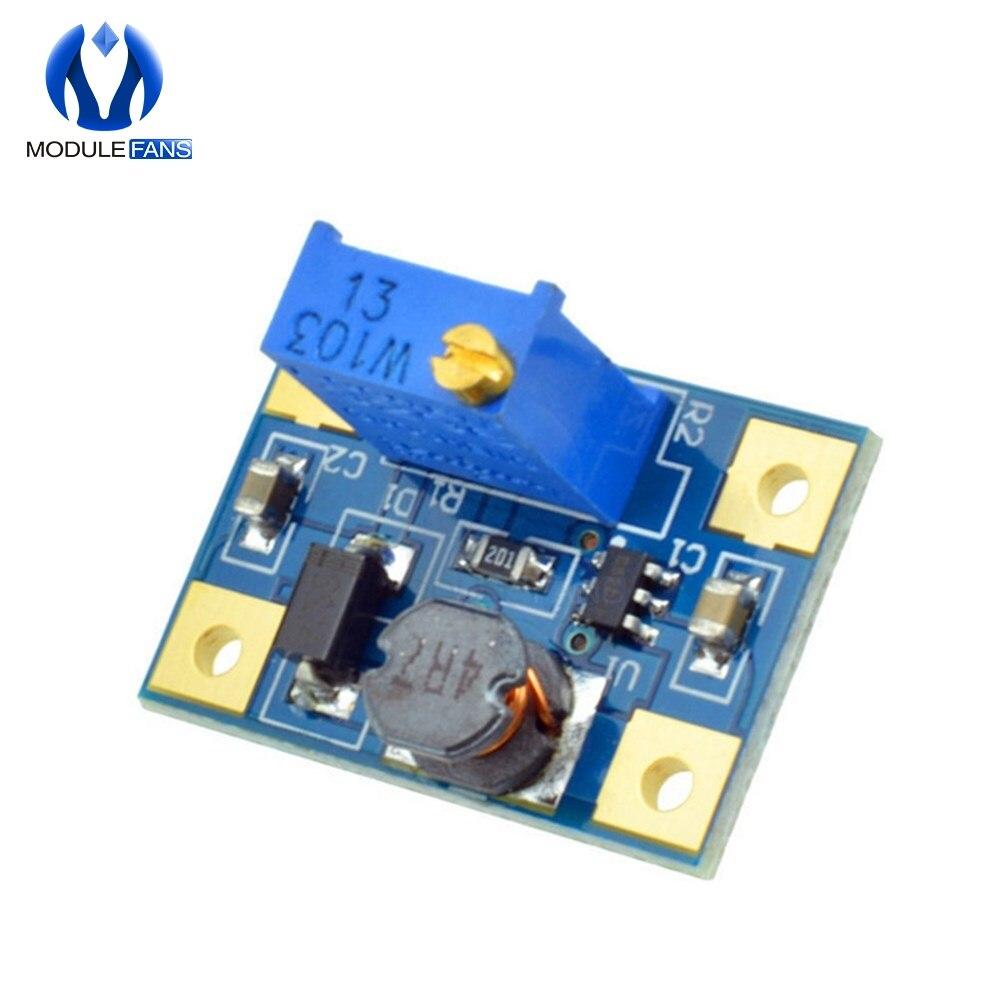 2 шт., регулируемый силовой модуль с повышающим преобразователем 2 24 В в 2 28 в, регулируемый силовой модуль, 2 а SX1308|power module|step updc-dc step up | АлиЭкспресс