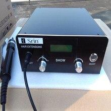 毛延長のための最新のデジタル超音波ヘアエクステンションマシンコネクタ JR999 働いた非常によく融合は即時