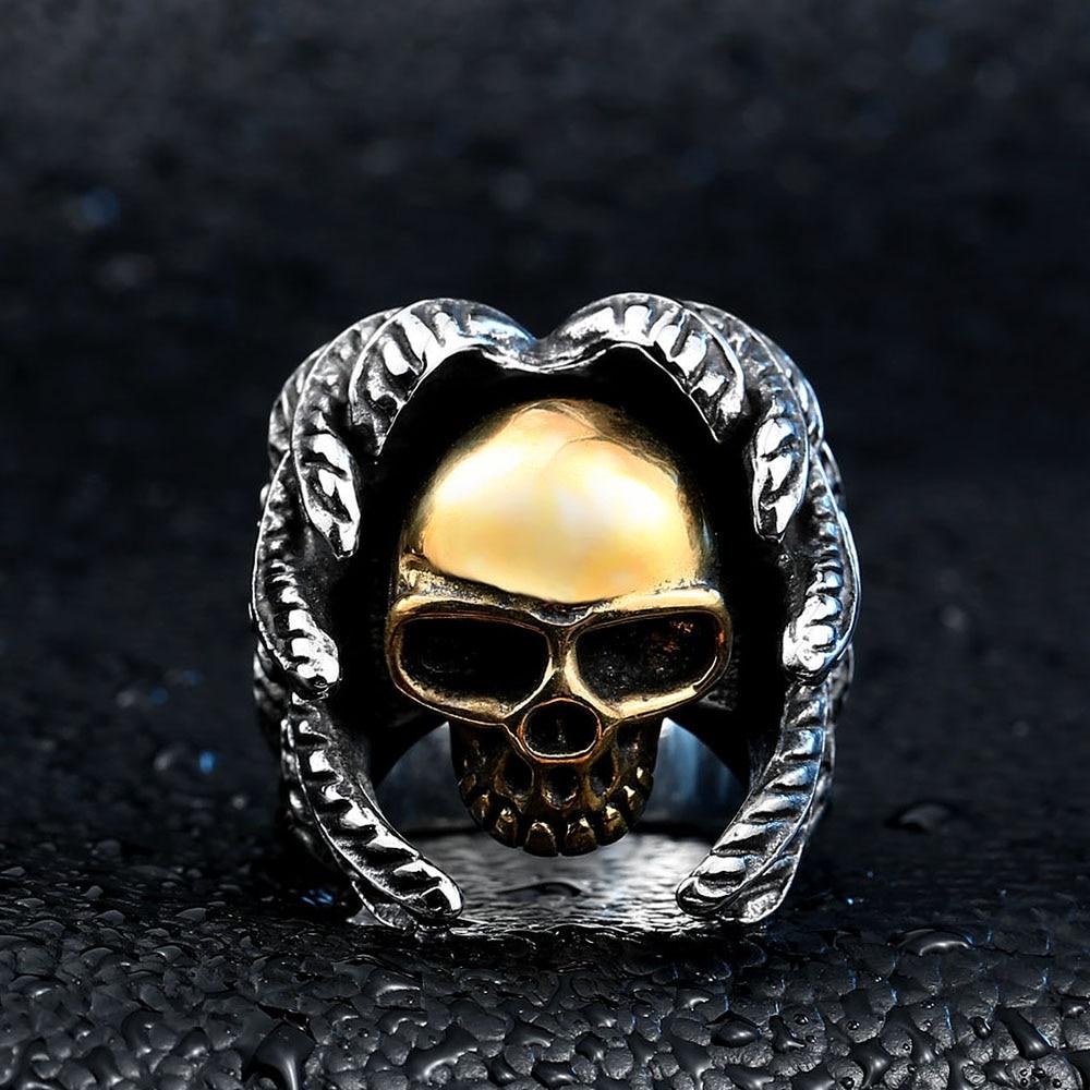 Beier Bagian Keren Bersayap Untuk Pria Stainless Steel Punk man - Perhiasan fashion - Foto 3