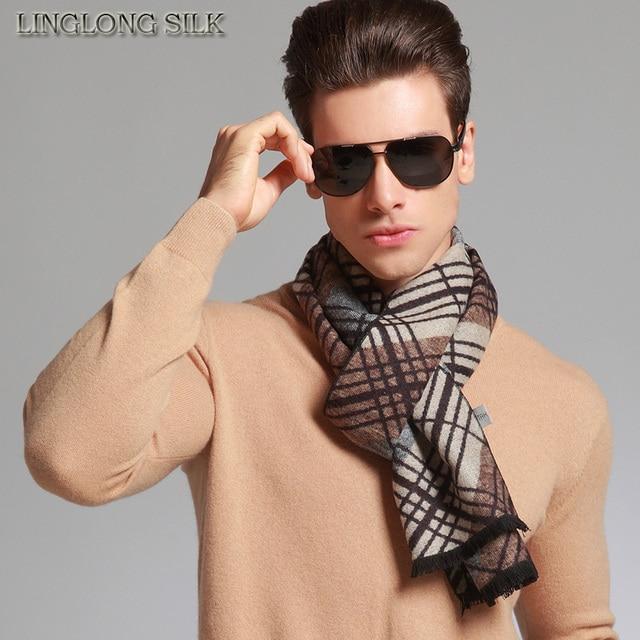5356eaed9 100% SILK VELVET WINTER SCARF For Men 30cmX170cm New Desigual UNISEX Scarf  Winter Scarf China