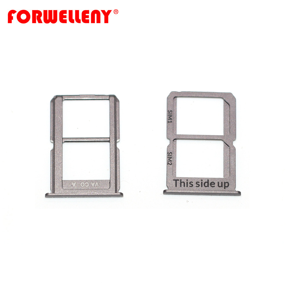 For Oneplus 3 3T Oneplus3  A3000 A3003 A3010 Nano Sim Card Holder Slot Tray Replacement Adapters GRAY SILVER