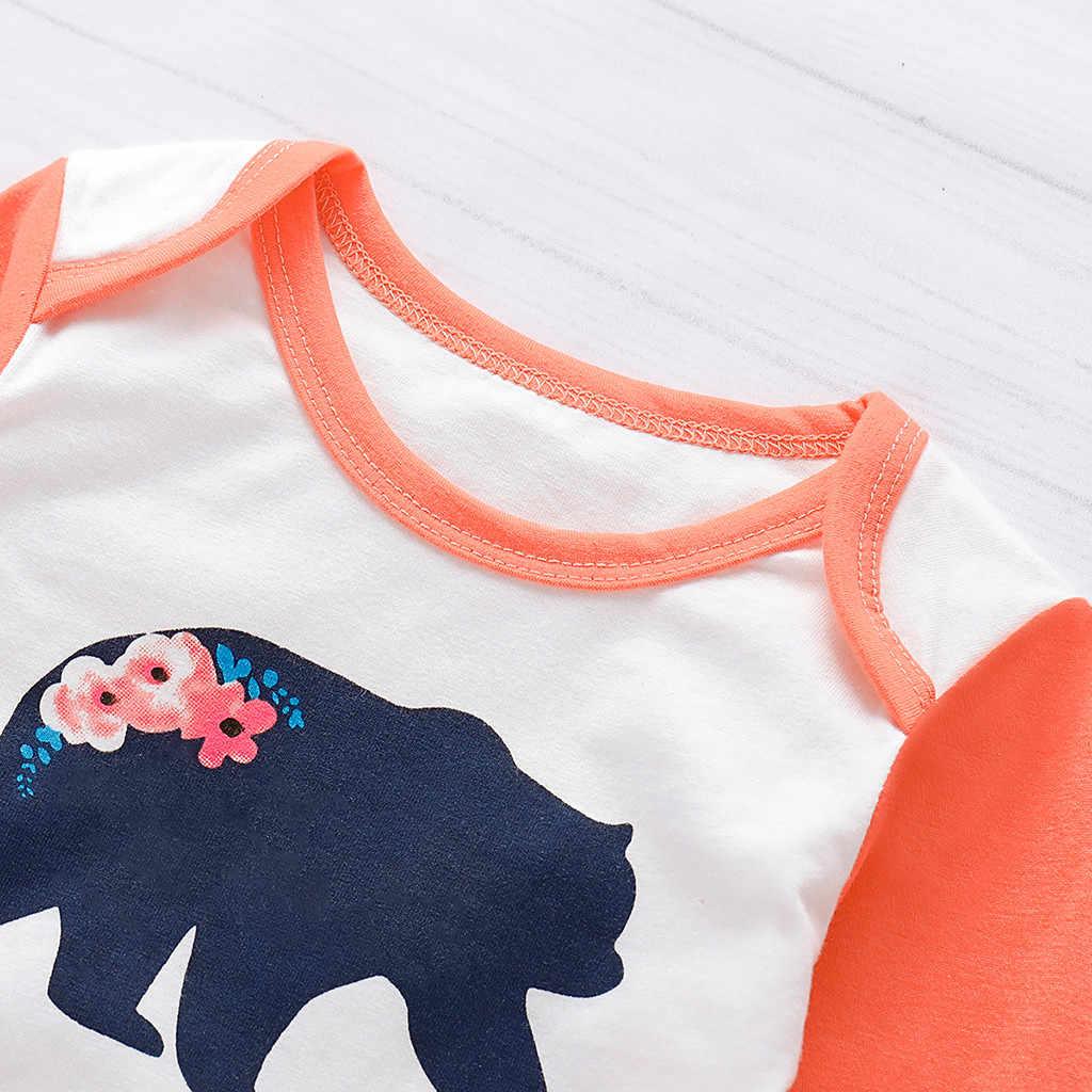 3 uds recién nacido Niño conjunto de ropa de bebé niña amor estampado de manga larga pantalones de algodón lindo Niñas Ropa conjuntos conjunto otoño