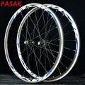 PASAK 700C шоссейные велосипедные колеса супер легкие герметичные подшипники из алюминиевого сплава дорожные колеса для велосипеда