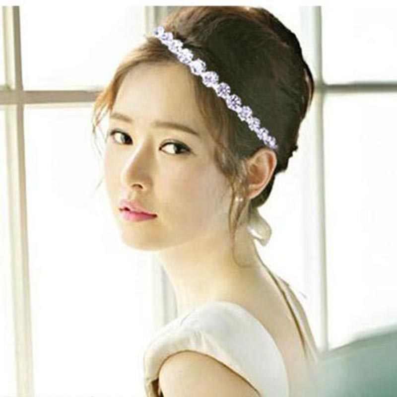 ... Simulated Pearl Crystal Bridal Bridesmaid Wedding Tiara Crown Flower  Girls Hairbands Birthday Wedding Hair Jewelry Accessories ... a5914d7dbec4