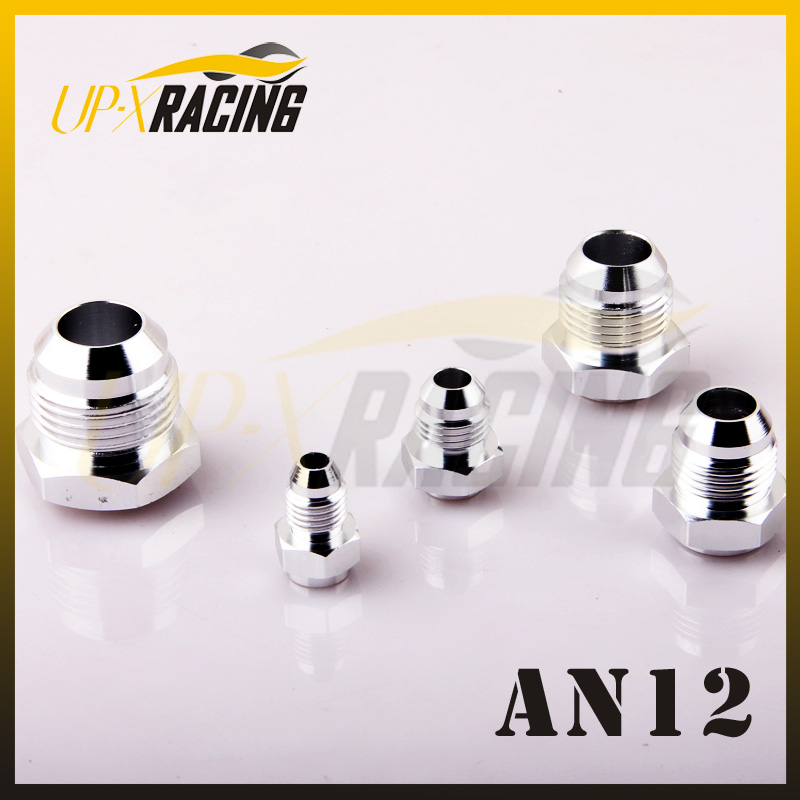 -12 AN 12 AN AN12 MALE MILD aluminum JIC MALE FLARE ALUMINIUM WELD ON BUNG FITTING ADAPTER - HEX BASE