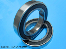 6907RS 1PC bearing Rubber seal bearing Thin wall bearing 6907 6907RS 35*55*10 mm chrome steel deep groove bearing