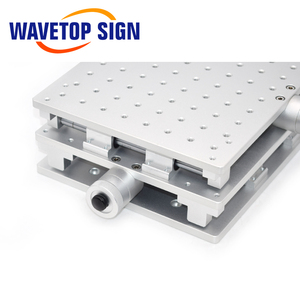 Image 5 - WaveTopSign 2D Worktable Sợi Laser Mark Máy 2 Trục Di Chuyển Bàn 300X220X90Mm XY Bàn