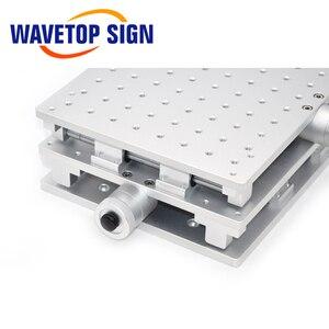 Image 5 - Wavetopsign 2D Werktafel Fiber Laser Merk Machine 2 As Bewegende Tafel 300*220*90Mm Xy Tafel