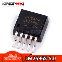 10pcs free shipping LM2596S-5.0 LM2596 LM2596S Voltage Regulators – Switng Regulators 150 KHZ 3A EP-DOWN VLTG REG TO-263-5