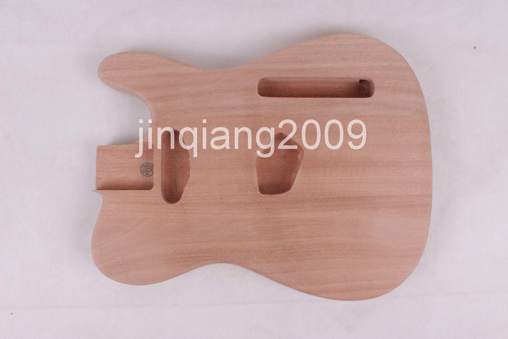 ONE Unfinished electric NEW guitar body new high quality Mahoganywood цена и фото