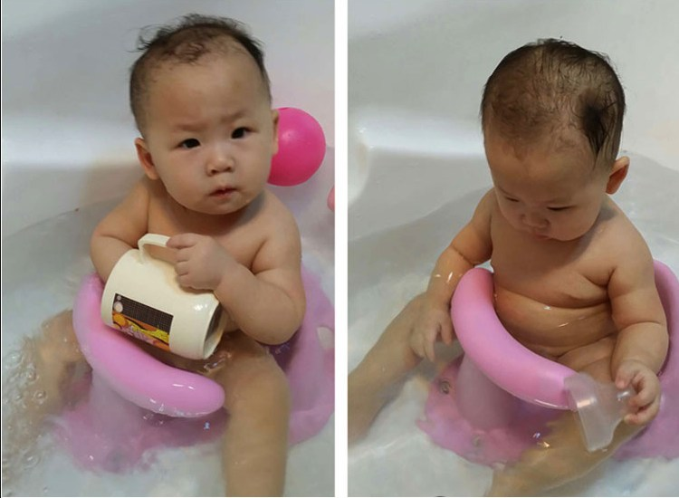 Aliexpress.com : Buy 4 Colors Baby Bath Tub Ring Seat Infant ...