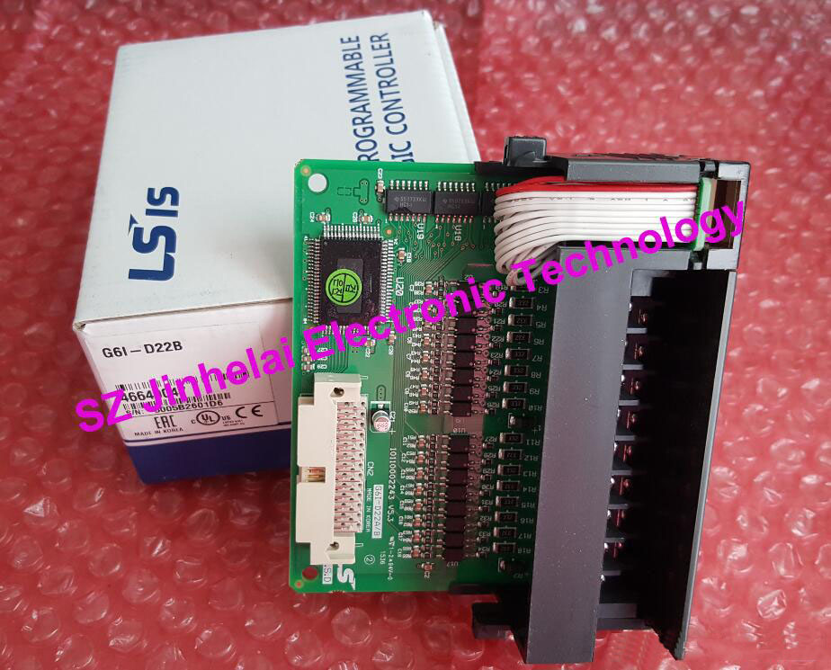100% Authentic original G6I-D22B LS(LG) PLC controller Input module g6i d24a 100% new and original ls lg plc input module
