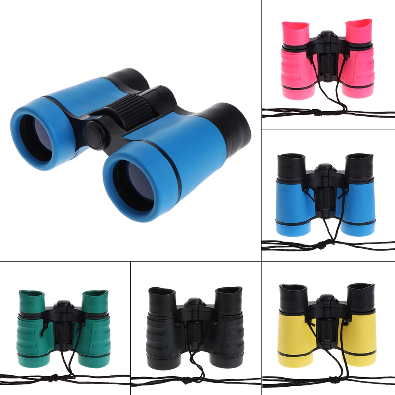 4x30 Plastic Children Binoculars Telescope For Kids Outdoor Games Toys Compact Children Binoculars