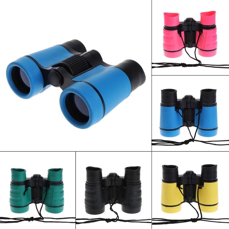 4x30 Plastic Children Binoculars Telescope For Kids Outdoor Games Toys Compact Children Binoculars