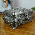 Fashion Classical Carving Ring boxes Ladies Wedding jewelry boxes gift for Bride Valentine's day gift Jewelry Display boxes