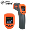 Digital thermometer Color LCD Infrared thermometer laser IR non-contact temperature Gun -50-380 C measuring electronic pyrometer