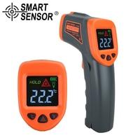 Digital Infrared Thermometer Laser Non Contact Temperature Meter Measuring Gun Electronic AS550 32 550C SmartSensor AS550