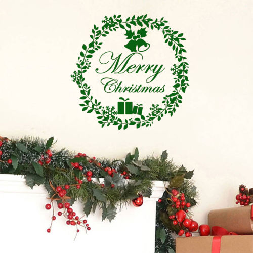 Christmas Quotes For Kids.Us 7 48 35 Off Traditional Christmas Wall Sticker Home Decorative Wall Decals Merry Christmas Quotes Kids Room Decor Wallpaper Mc065 In Wall