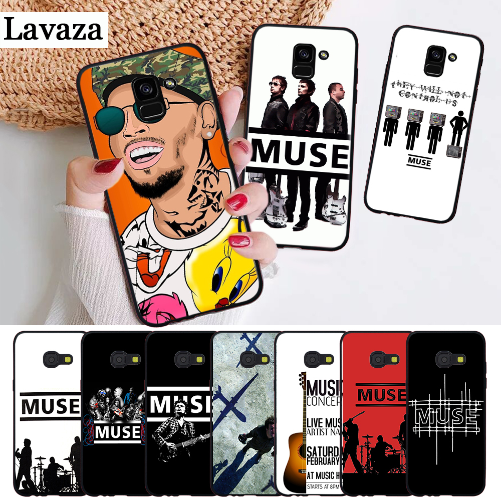 Muse Band Lyrics Music Songs Silicone Case for Samsung A2 Core A3 A5 A6 Plus A7 A8 A9 A10 A30 A50 A60 A70 A10S A30S A50S A70s image