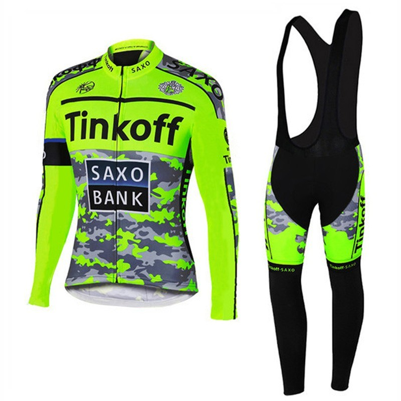 New arrival MTB Men's cycling jersey Long sleeve bike Trousers/breathable ropa saxo tinkoff Bicycle/Cycle Clothes Clothing