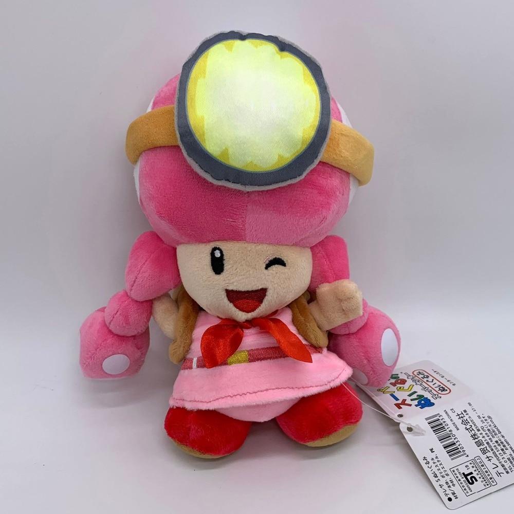 Super Mario Kapten Toad Toadette Mewah Harta Karun Tracker Lembut Toy Doll 8 Film Tv Aliexpress
