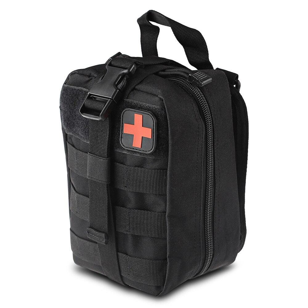 Kits de primeiros socorros de viagem à prova dwaterproof água oxford pano tático pacote cintura acampamento escalada tático emt médica primeiros socorros ifak saco