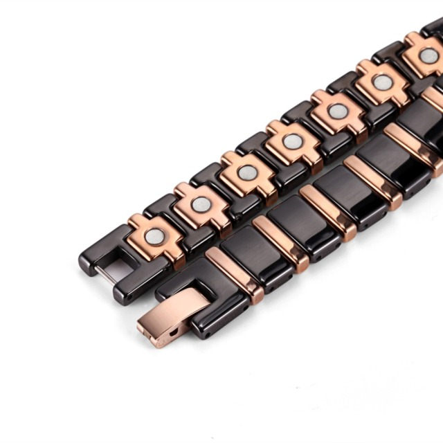 Black Ceramic Bio Energy Magnetic Health Bracelet