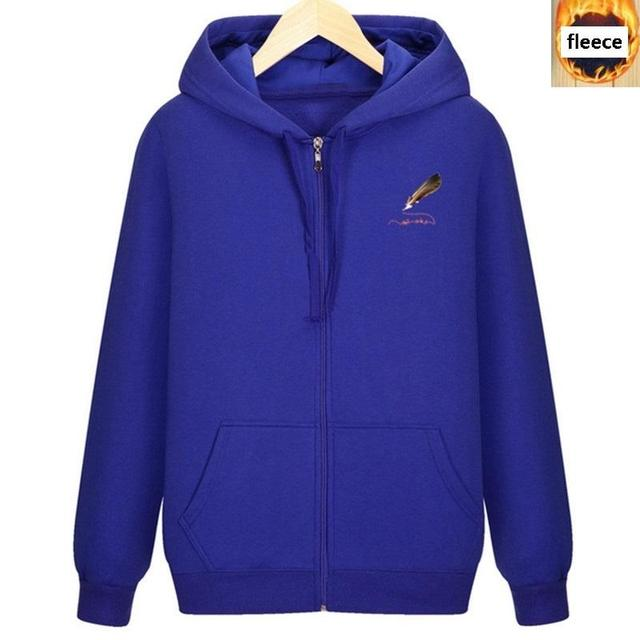 Men's large size zipper hooded sweatshirt 5XL 6XL 7XL 8XL autumn and winter thick black large size casual jacket Others Men's Fashion