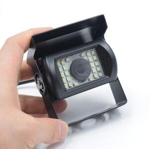 Image 3 - XCGaoon ユニバーサル車のリアビューカメラ 170 度防水 24 LED 夜ビジョン入力 DC 12 ボルト 24 ボルト、と互換性バス & トラック
