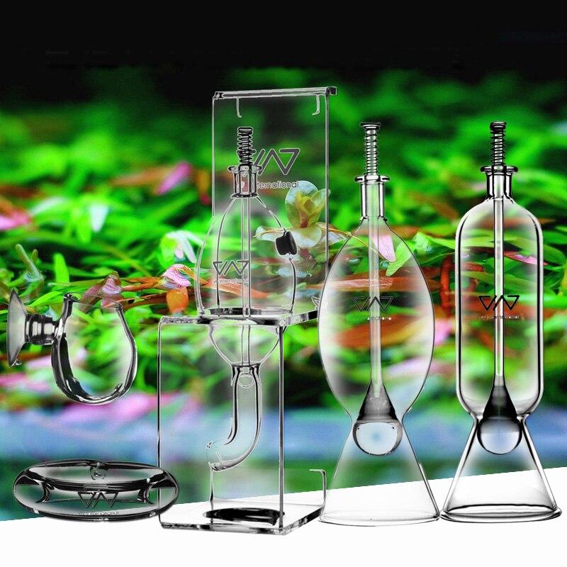 Glass feeder hang on tropical fish food aquarium VIV brand ADA quality Free Shipping Кормушка