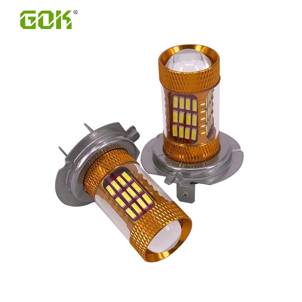 10 x Car Led H7 Lampa İşıq 30W Chip 4014 SMD 60LED İşıq - Avtomobil işıqları - Fotoqrafiya 2