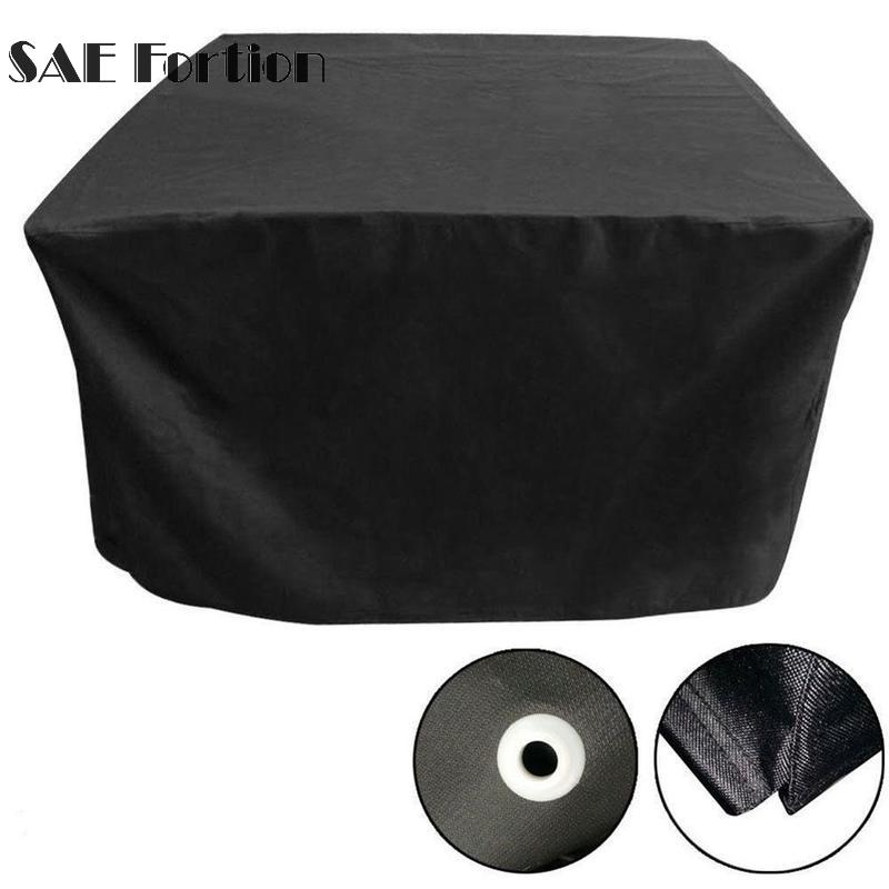 Dust Cover Waterproof Outdoor Patio Garden Furniture Rain Snow chair Black covers for Ta ...