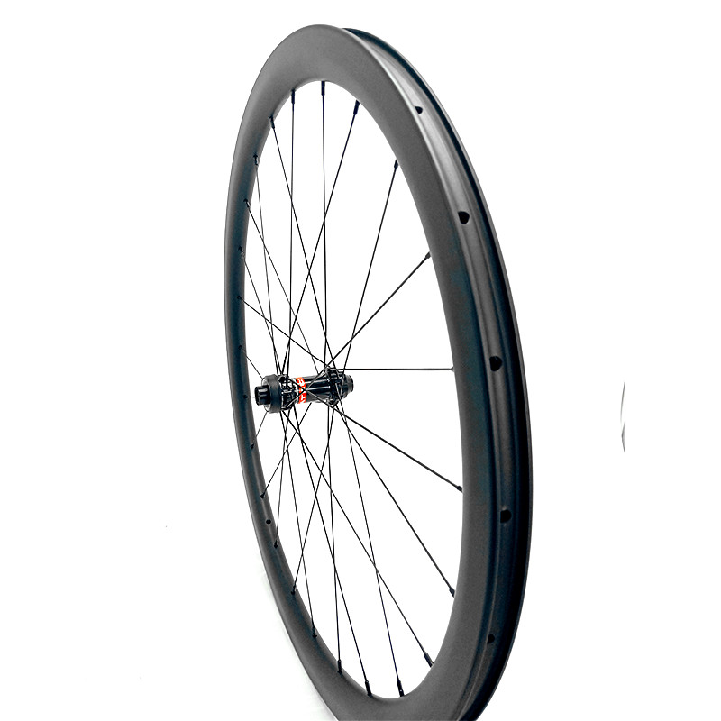 carbon wheels 700c road bike wheels 38/50/60mm clinher 25mm cyclocross front 100x12 Central lock road carbon disc wheel 1420