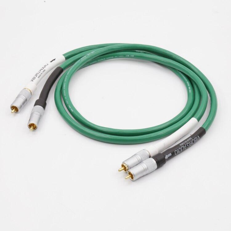Haute Qualité Hifi Audio 2328 Pur De Cuivre HiFi Audio câble RCA câble d'interconnexion