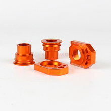 Motorcycle CNC Rear Chain Adjuster Axle Block And Front Wheel Hub Spacer For SX SX-F XC XC-F 125 250 350 450 530