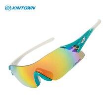 XINTOWN Cycling Eyewear Colorful Biking Glasses Women's Men's Outdoor Sports Bike Bicycle Windproof Sunglasses