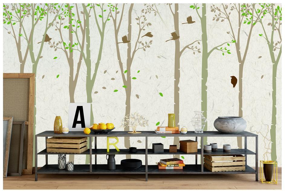 custom d papel tapiz para paredes d pared murales de papel tapiz paisaje hermoso bosque
