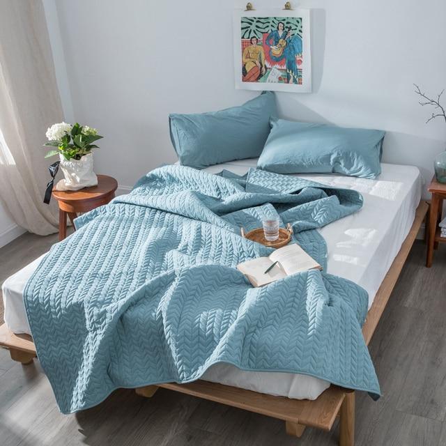 100%Cotton Bed Comforter Bedspread Throw Blanket for beds Summer Quilt Adult Children Kids Bed Cover Duvets edredones cubrecamas