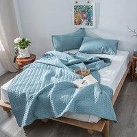 % 100% Pamuk Yatak Yorgan yatak Örtüsü Atmak için Battaniye yatak Yaz Yorgan Yetişkin Çocuk Çocuk Yatak Örtüsü Yorgan edredones cubrecamas|Yatak Örtüsü|Ev ve Bahçe -