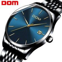 DOM Мужские часы - лучшие брендовые роскошные водонепроницаемые механические часы из нержавеющей стали. Часы для бизнеса - часы reloj M815