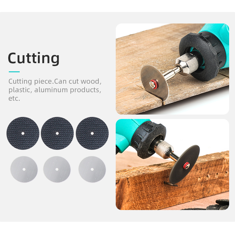 Image 3 - Tungfull Dremel Rotary Tool 30000RPM Dremel Accessories Set Mini Electric Grinder Mini Drill Engraver Carving Polishing Cutting-in Electric Drills from Tools on