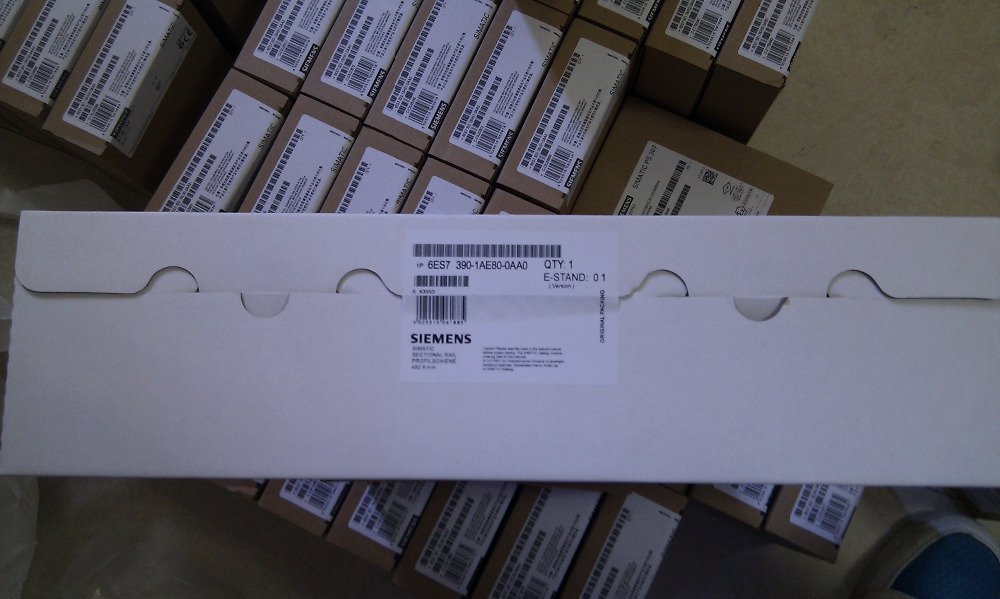 New 6ES7390-1AE80-0AA0 DIN Rail 480MM for SIMATIC S7-300 PLC Mounting,NEW & ORIGINAL 100%