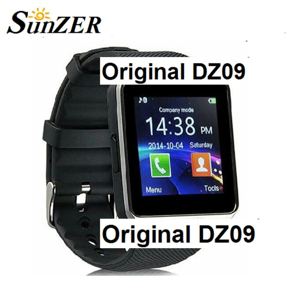 Camera Android Phone Support 2016 hot original dz09 bluetooth smart watch for android phone support smitf men women smartwatch sport wristwatch in stock gadget