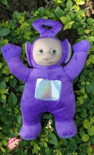 Teletubbies Set of 4 Plush Dolls Featuring 10 Po Dipsy Laa Laa and Tinky Winky