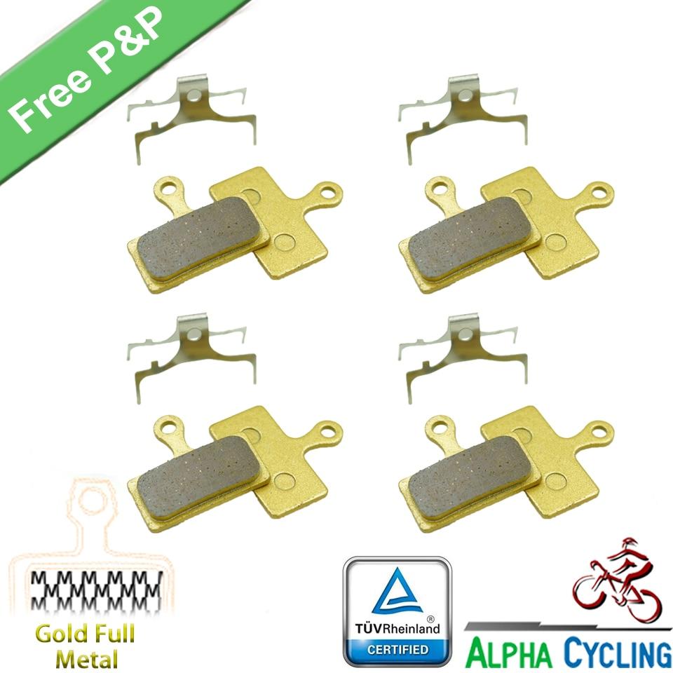 Shimano G04S MTB//Road Disc Brake Pads XTR//XT//SLX//DEORE M985//M785//M666//RS785