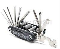 Bicycle Repair Tools Multifunctional 16 In 1 Folding Mountain Bike Repair Tools Cycling Combination Repair Tool