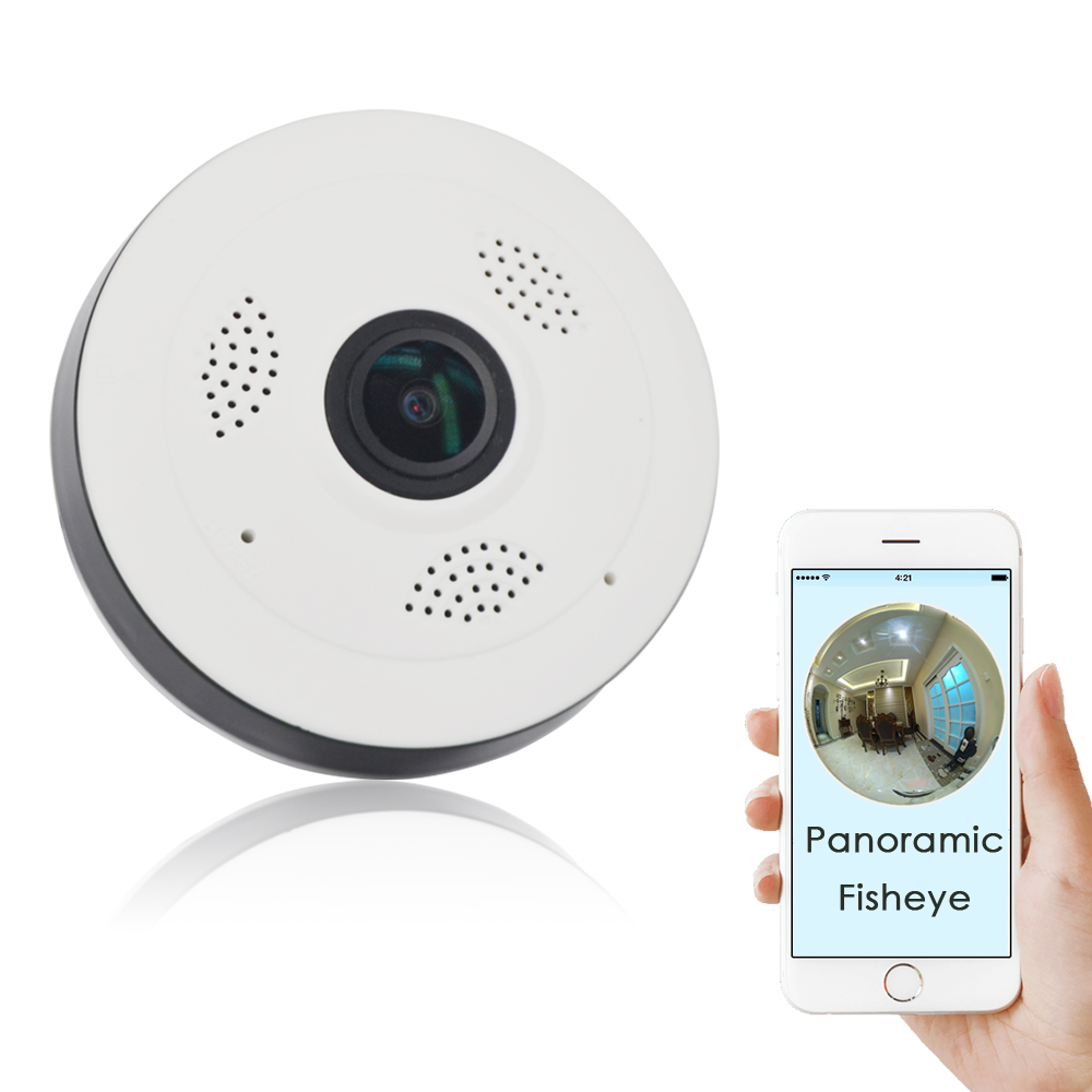 CTVMAN Security Wi-fi 360 Degree Cameras Fisheye Lens 960p HD Smart Home SD Card Slot Two Way Audio Super Mini Dome Cameras wi fi адаптер sat integral 1210 hd в киеве