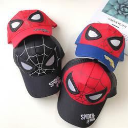 Новый Человек-паук Мультяшные шляпы Детская Праздничная шляпа для мальчиков и девочек шапка для косплея Человек-паук солнцезащитные шапка