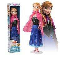 Дисней девочки Холодное сердце 31 см Принцесса Эльза Bjd куклы игрушки для девочек детские игрушки для девочек макияж для детей maquiagem infantil кук...