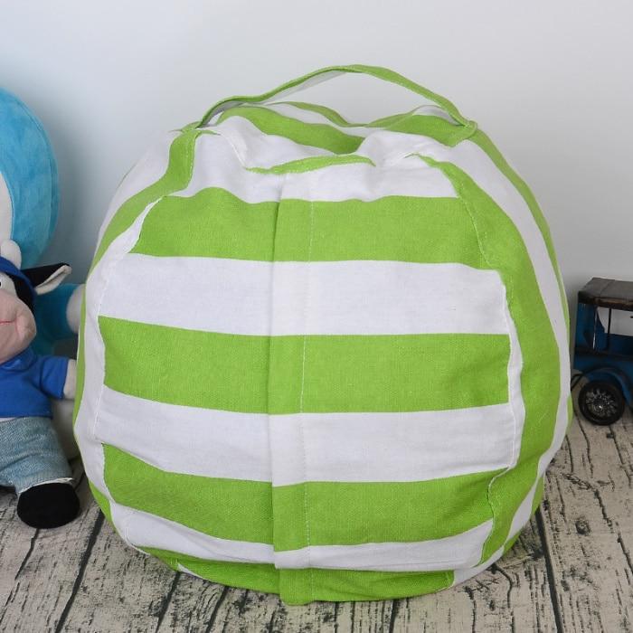 6 цветов чучело для хранения кресло для детей-Пуф Пуфик для хранения игрушек - Цвет: Green